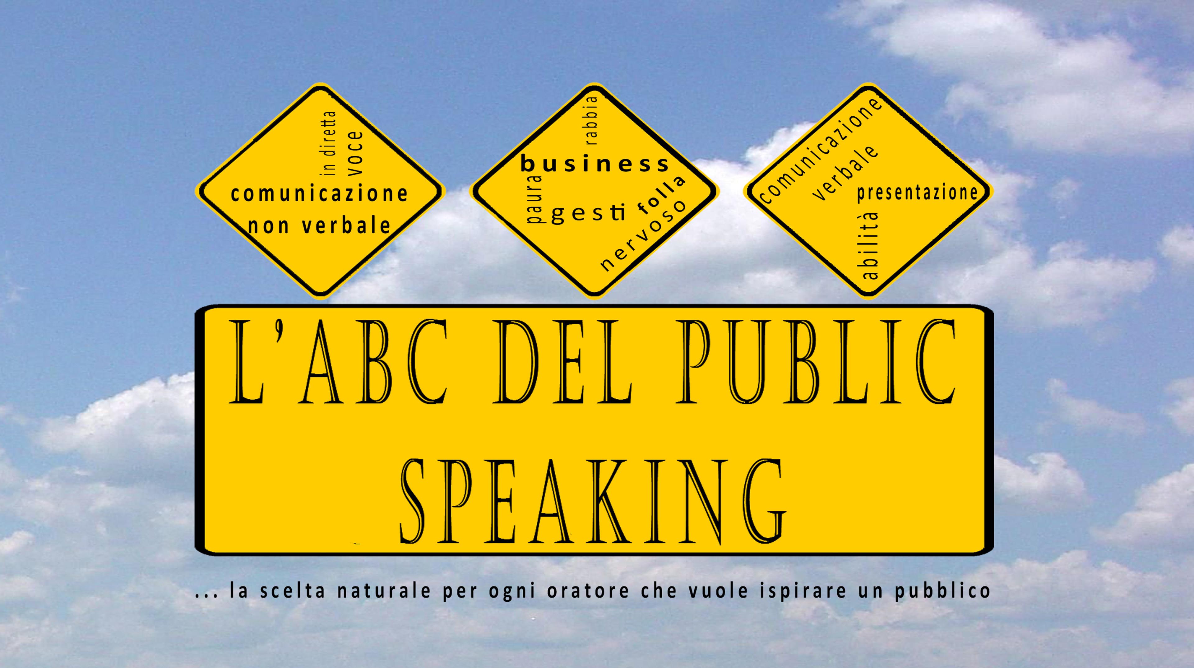 ABC del Public Speaking | Corsi Bologna