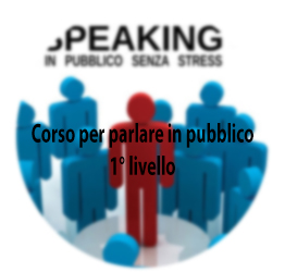 <strong>Public Speaking 1° livello</strong>